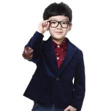 Enfants Blazers Vestes 2017 Nouvelle Angleterre Et Américain Style Printemps grand Garçon Vestes À Manches Longues Solide Garçons Vestes Et Manteaux 2-11 T