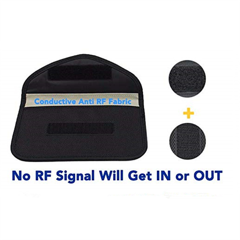 All in One EMF Signal Blocking Pocket, For Phones 1-5G, Car Keys, FOB WIFI/GSM/LTE/NFC/RF 5G Blocker 5
