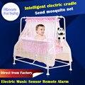 Sallei Cama Cama Berço Do Bebê Elétrica Cama Inteligente Bebê Cadeira Berço Cadeira de balanço Pendurado Cadeira Cadeira de Balanço Concentretor Mosquiteiro