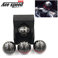 Ace speed-JDM style black/red line 5/6 Speed M10X1.5 Mugen Carbon Fiber Gear Shift Knob For Honda EK9 EP3 FN2 DC2 DC5 S2000 FD2