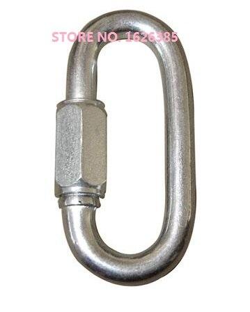 Aroma Herzhaft M3.5--m5 Verzinktem Quick Link Anschluss Taste Bergsteigen Schnalle Kette Stecker Haspe Hebe Rigging Hardware Duftendes In