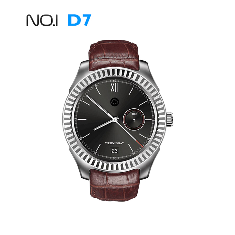 New NO.1 D7 Smart Watch Android 4.4 SIM Bluetooth 4.0 Smartwatch 500mAh GPS WIFI 3G Heart Rate Monitor Smart Wearable Devices no 1 d6 1 63 inch 3g smartwatch phone android 5 1 mtk6580 quad core 1 3ghz 1gb ram gps wifi bluetooth 4 0 heart rate monitoring