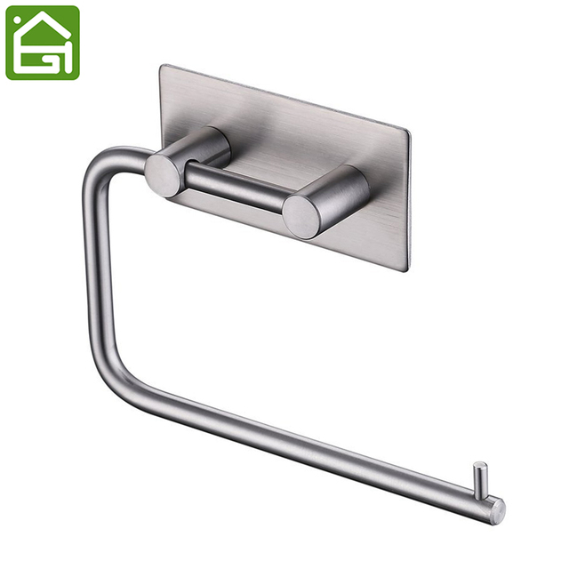 Rustproof Stainless Steel 3M Self adhesive Toilet Paper Holder ...