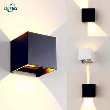 QLTEG уличный водонепроницаемый IP65 Настенный светильник, современный светодиодный настенный светильник для помещений, бра, декоративное освещение, для крыльца, сада, настенные светильники