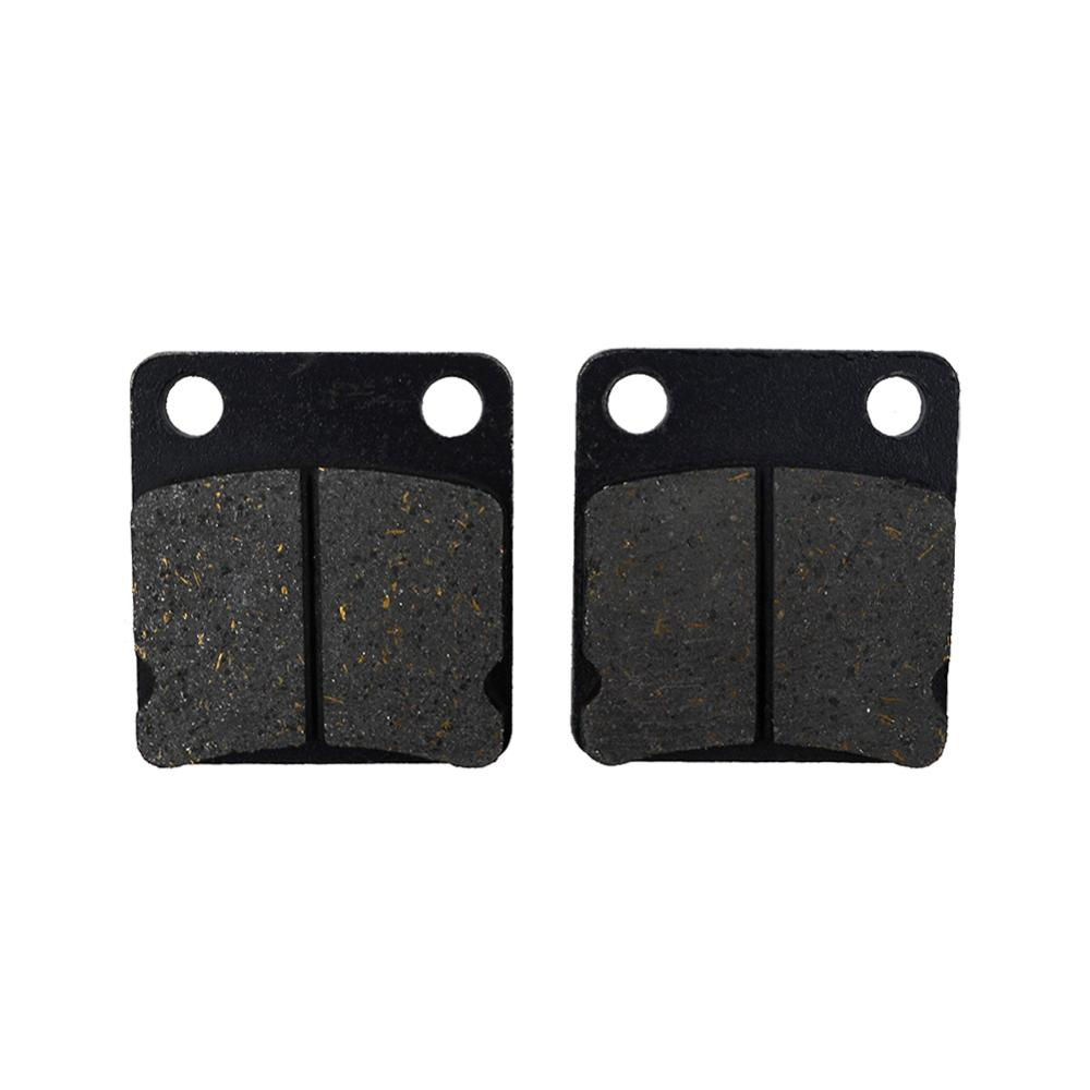 Motorcycle Front Brake Pads for SUZUKI <font><b>DR</b></font> 125 DR125 1986-1996 DR200 1986-2016 SP200 SP 200 1986-1988 DR250F <font><b>DR</b></font> <font><b>250</b></font> F 1985 image