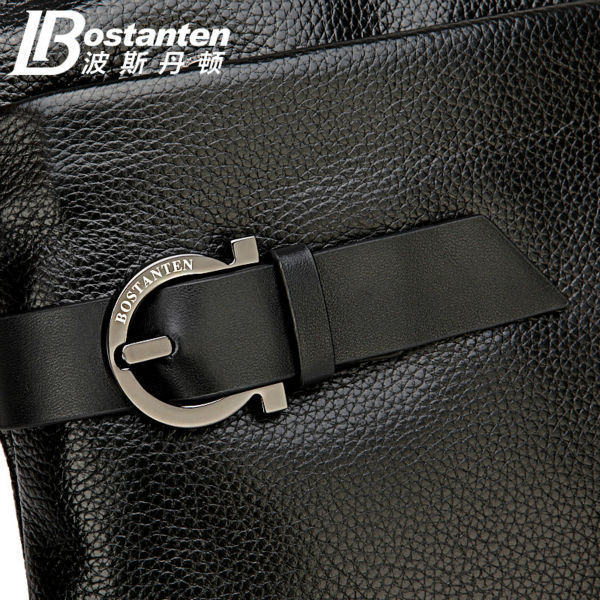 2018 New BOSTANTEN 100% GENUINE LEATHER cowhide Shoulder - ჩანთები - ფოტო 3