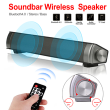 Bluetooth Column 10W Wireless Speaker Portable Super Bass Home Theater Soundbar TV Subwoofer