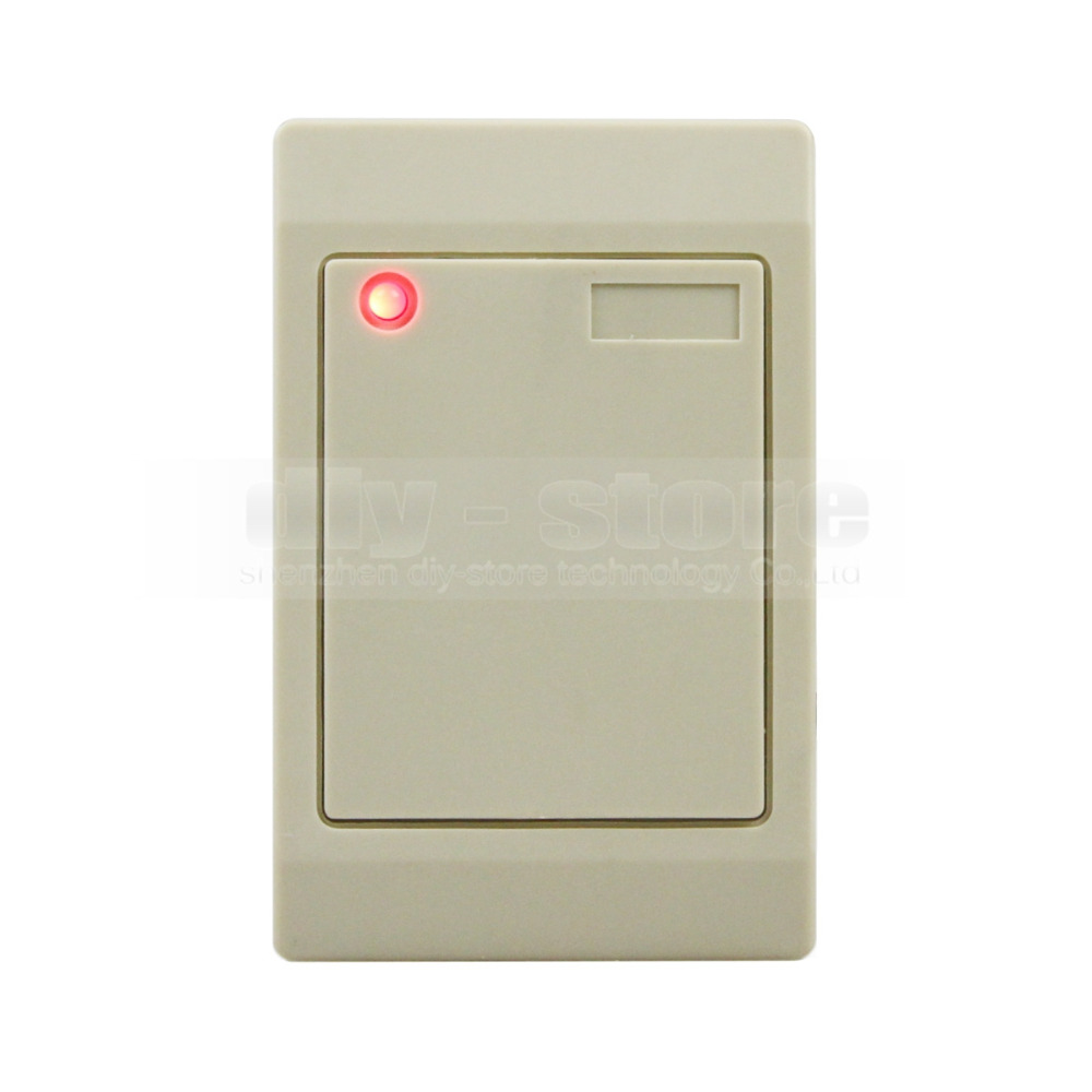 DIYSECUR Waterproof 125KHz Wiegand 26 Reader for Access Control System Kit EM4100 wiegand 26 input