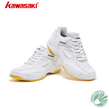 2019 Genuine Kawasaki Children's Series KC-16 KC-17 Badminton Shoes Multilayer Breathable Mesh High Elasticity Eva Sneakers(China)