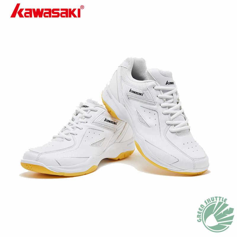 2019 Genuine Kawasaki Children's Series KC-16 KC-17 Badminton Shoes Multilayer Breathable Mesh High Elasticity Eva Sneakers