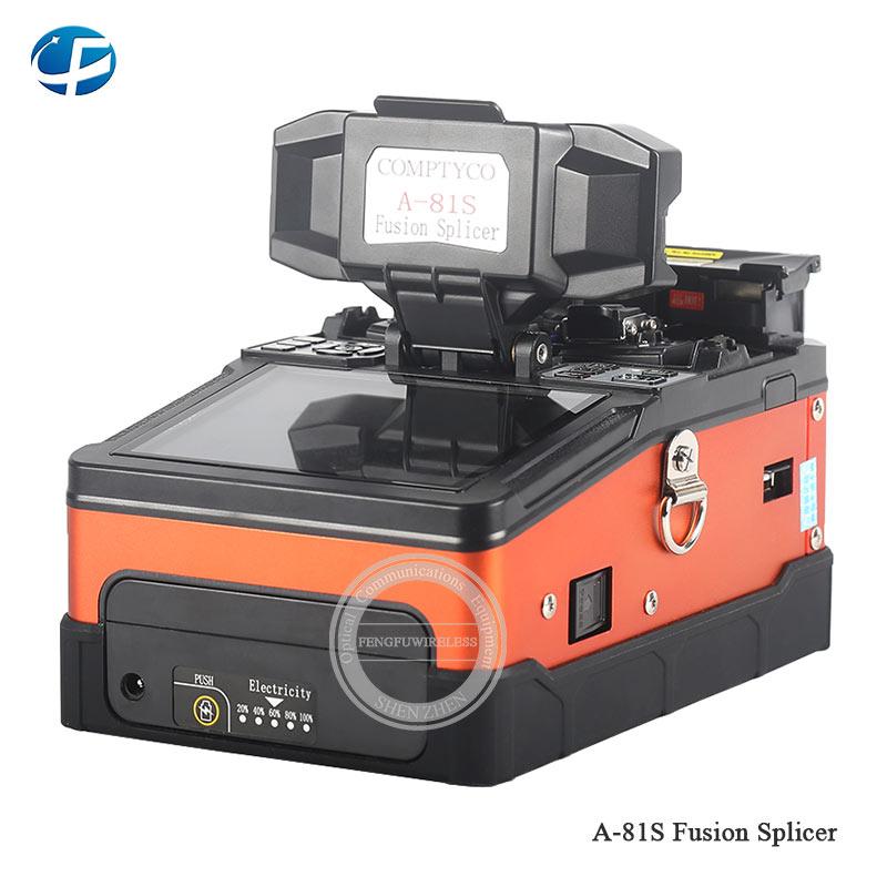 A-81S оранжевый/зеленый полностью автоматическая машина для сращивания оптического волокна