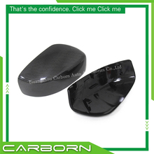 For Infiniti G Series G25 G37 Coupe 2009-2014 Replacement Type Carbon Fiber Mirror Cover Body Side Rear View Caps
