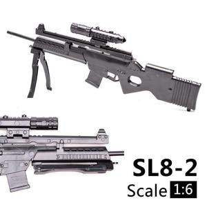 Image 5 - 1:6 1/6 весы, 12 дюймовые фигурки, винтовка, Спортивная винтовка, мини модель, пистолет, игрушка, используется для 1/100 мг Bandai Gundam, модель, детская игрушка