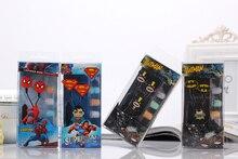 SiciLY 3.5mm jack Cartoon one series of Superman Heros super Stereo headset earphone for iOS and Andoid MP3 universal Earphone
