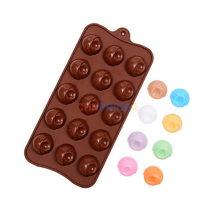 Half Ball Silicone Mould Round Cookie Chocolate Decorating Cake Candy Soap UK
