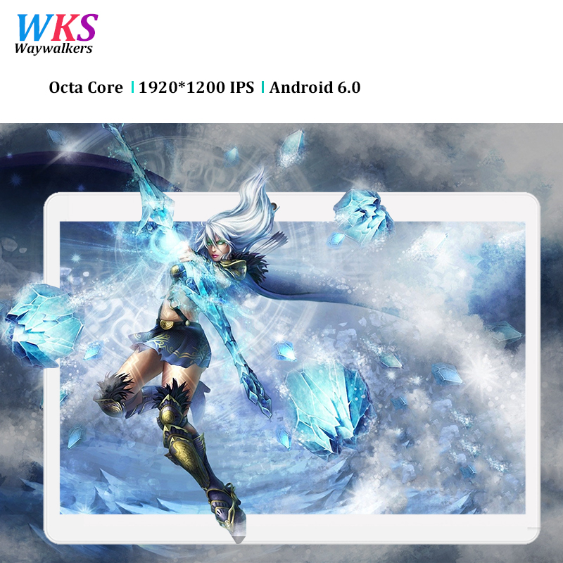 Free shipping 10.1 inch 3G 4G LTE tablet PC Android 7.0 Phone call octa core RAM 4GB ROM 64GB 1920*1200 IPS Bluetooth tablets Pc