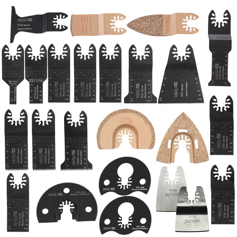 24Pcs Set Quick Change Oscillating Multi Tool Blade For Black&Decker Dewalt screws set for r c helicopter black 24pcs