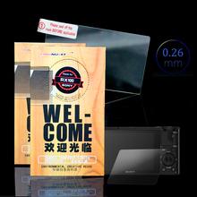 Oryginalny wyświetlacz LCD ekran dotykowy obsługa aparatu szkło hartowane folia ochronna na ekran do SONY RX100 rx100 RX 100 3 cal kamera koncentrując się ekrany tanie tanio For SONY RX100 Screen Protector Film 70*52mm YKMZGO