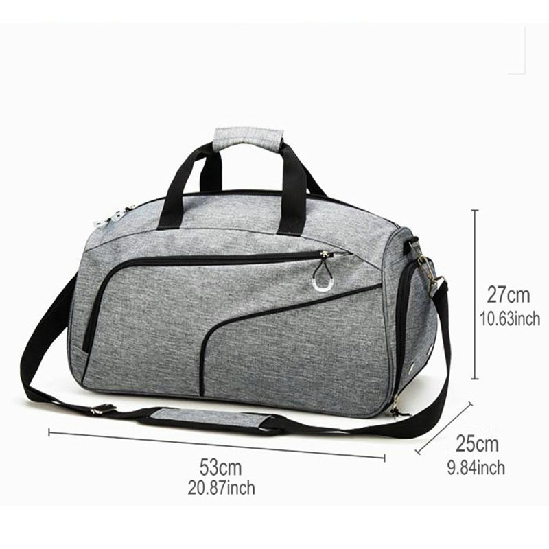 Image 4 - Swimming Pool Bag For Men Sports Gym Bags With Wet Pocket And 