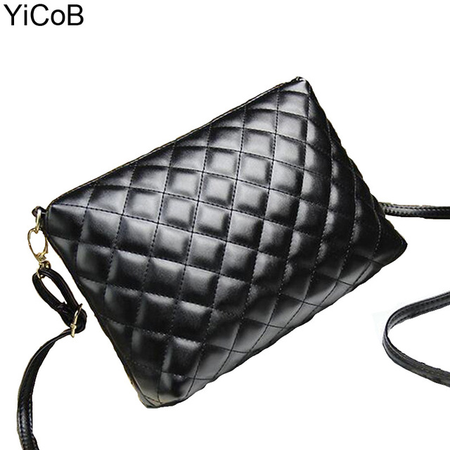 PU Leather Women Messenger Bags bolsa feminina bolsas mujer High Quality Sac Shoulder Crossbody Ladies Female Diamond Lattice