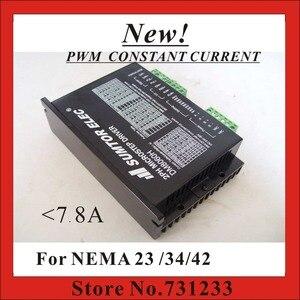 New! CNC Stepper Motor Driver DM8060H For NEMA 17 23 34 Stepper Motor 7.8A DC/AC Supply 256 Subdivision