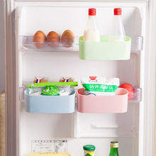 New Plastic Refrigerator Hanger Storage Box for Food Cans Eggs Sugar Storage Holder Kitchen Organizer Frige Sundries Boxes