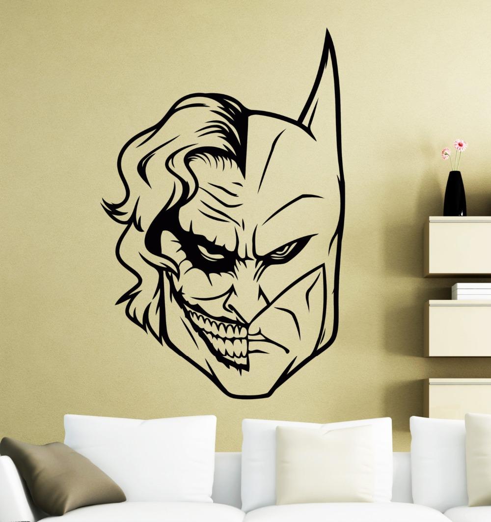 Us 7 7 26 offaliexpress com beli kualitas tinggi dc marvel comics superhero antihero vinyl wall stiker dinding decal untuk kamar anak anak