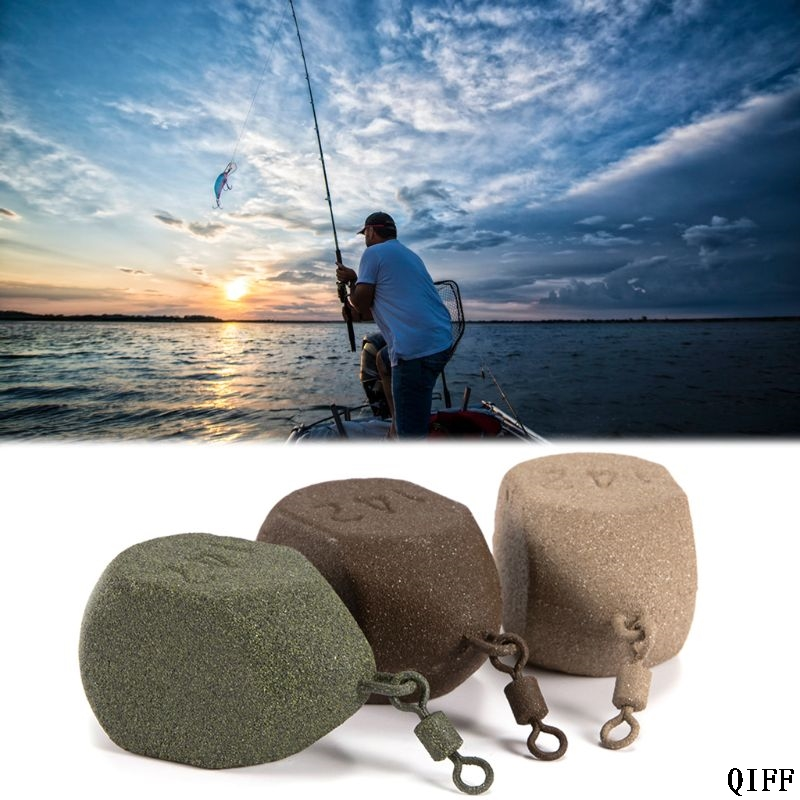 Dropshipping Lead Weight Fishing Sinker Geometric Shape Special Professional Carp Tackle Sea Fishing Accessories APR28