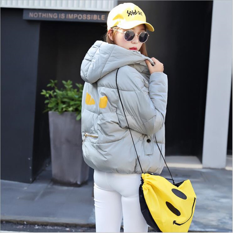 Europe Stood New Winter Jacket Women 2016 More Show Thin Big Yards Short Bread Down Cotton