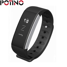 POTINO C9 Inteligente Pulsera Bluetooth Impermeable Presión Arterial Heart Rate Monitor de Sueño Recordatorio Sedenarty Smartband Para IOS/Andro