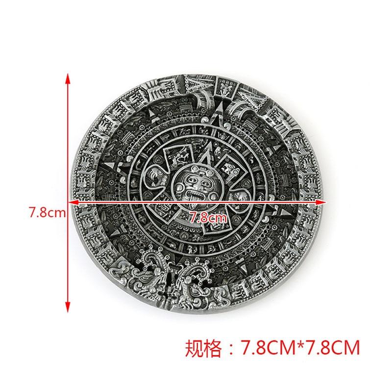 Yeni dizayn Maya Style Kəmər Buckle Markası Kişi Aksesuarları - İncəsənət, sənətkarlıq və tikiş - Fotoqrafiya 2