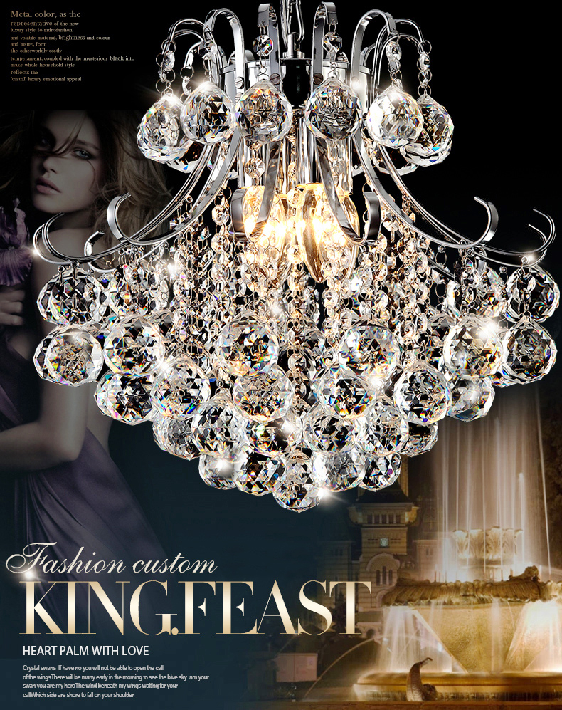 2017 Luxury Crystal Chandelier Living Room Lamp lustres de cristal indoor Lights Crystal Pendants For Chandeliers Free shipping luxury crystal chandelier living room lamp lustres de cristal indoor lights crystal pendants for chandeliers d20cm ce vallkin