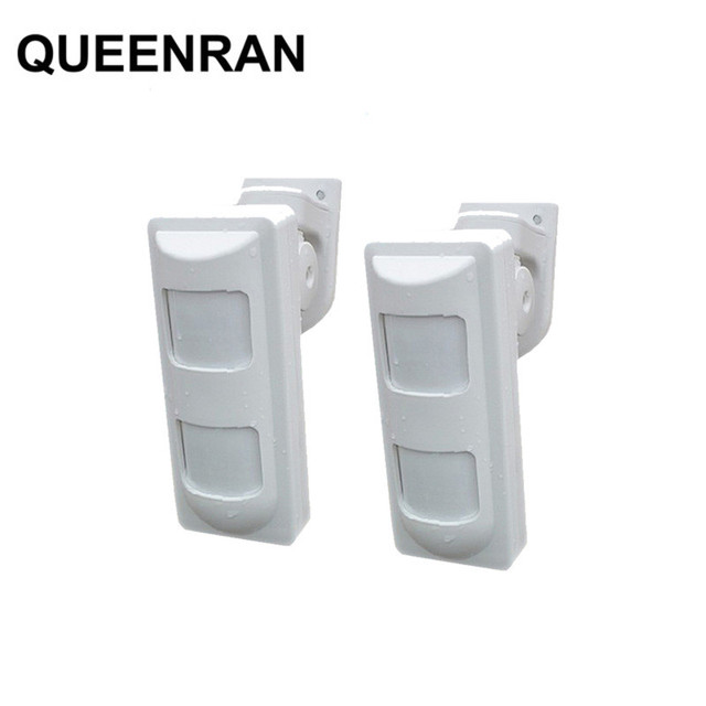 High Quality Outdoor Wired Dual Pir Microwave Motion Detector Anti Mask Sensor For Home Security Alarme Systems