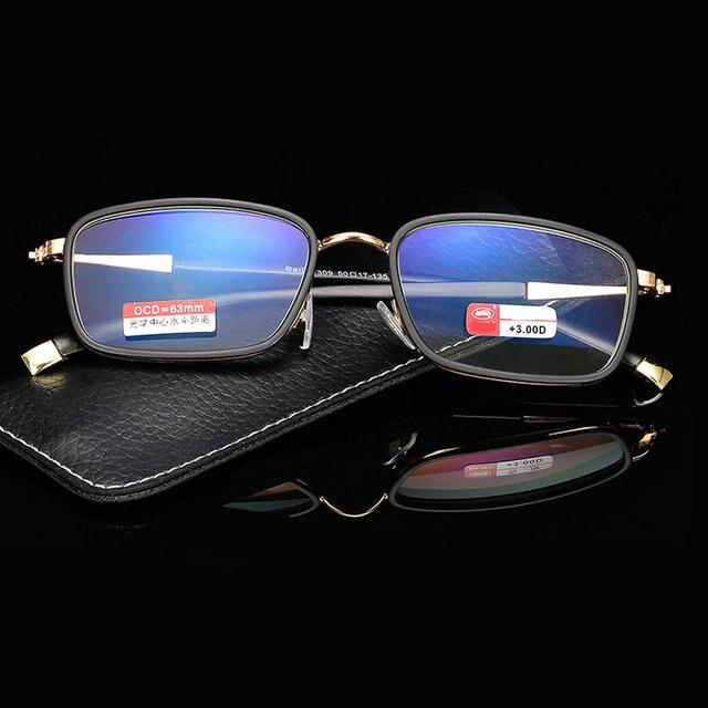 57442e099fc MINCL Full Frame Reading Glasses Mens Blue Light Blocking Glass Reading Glasses  Blocking Blue Light Computer Reading Glasses-gyw