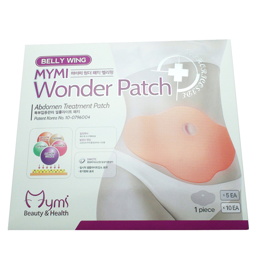 15Pcs MYMI Wonder Slimming Patch Belly Abdomen Weight Loss Fat burning Slim Patch Cream Navel Stick Body Massager C322 16