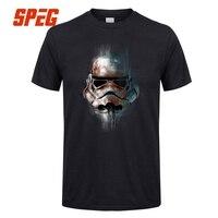 StarWars T Shirt Man Star Wars T Shirt Men Tops Imperial Stormtrooper Short Sleeve Cotton Luxury