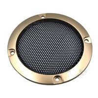 Capa de Malha orador Orador Conector de Rede de Proteção Capa Protetora Anel Decorativo Nova 2 Polegada/3/4/5 /6/8/10 Polegada