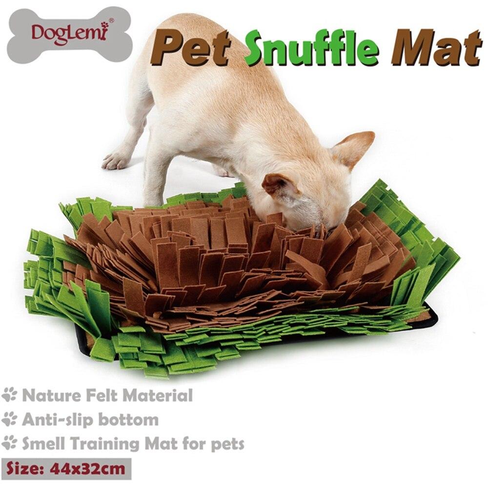DogLemi Dog Smell Training Mat Pet Snuffle Mat Stress Release Nosework Blanket pet mat 2 colors Dropshipping