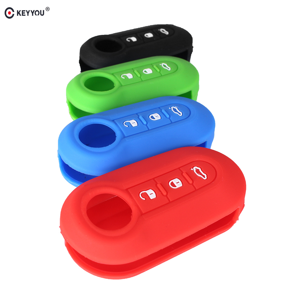 Aliexpress.com : Buy KEYYOU Silicone Car Key Cover Fits