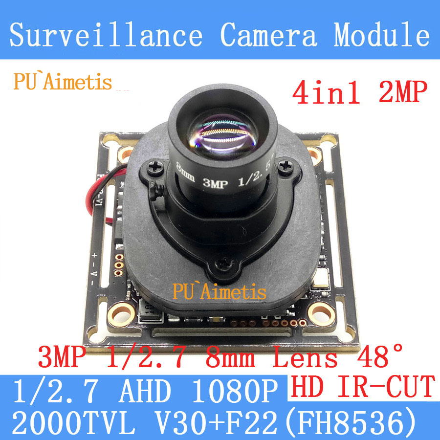PU`Aimetis4in 1 2MP 1920*1080 AHD CCTV 1080P mini night vision Camera Module 2000TVL 3MP 8mm Lens 45 degrees surveillance camera genuine fuji mini 8 camera fujifilm fuji instax mini 8 instant film photo camera 5 colors fujifilm mini films 3 inch photo paper