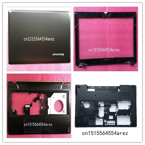 New original Lenovo Y580 lcd rear Back+lcd bezel screen frame +Palmrest/The keyboard cover+base cover case 90200852