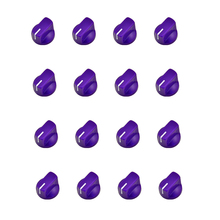 50pcs/Lot Guitar Pedal Potentiometer Pedal Knobs purple for DIY guitar amp effects pedal