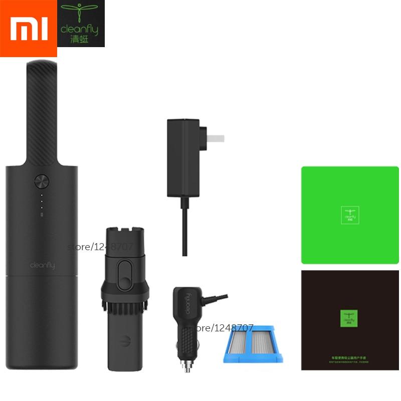 Limpiador de polvo de coche Xiaomi mi jia Cleanfly Coclean mi ni portátil inalámbrico mi carga rápida dos tipos para uso doméstico Y de limpieza del coche-in control remoto inteligente from Productos electrónicos    1