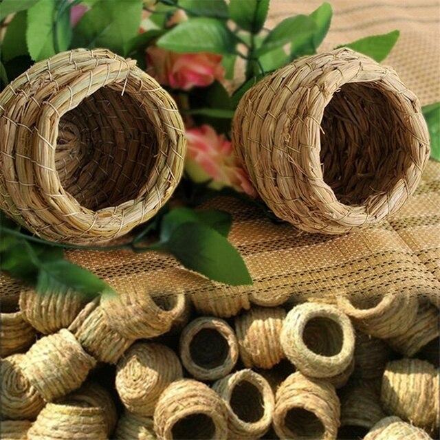 Handmade Straw Bird Nest  3