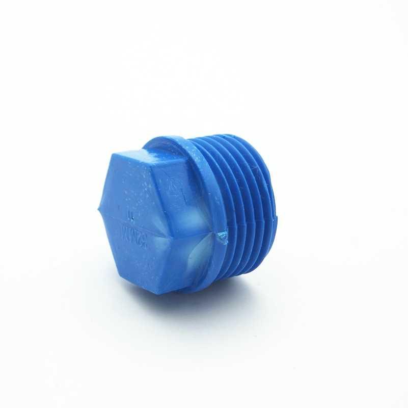 """1/2 """"bsp 남성 엔드 캡 플러그 pvc 튜브 공동 파이프 피팅 커플러 어댑터 정원 관개 시스템에 대 한 물 커넥터"""