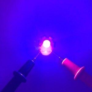 Image 2 - 10 قطعة 3 واط عالية الطاقة LED رقائق إضاءة الأشعة فوق البنفسجية ديود 39nm 400nm 36nm 370nm الأرجواني الترا البنفسجي لتحديد العملات مجفف الأظافر