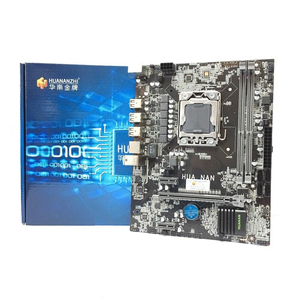 HUANANZHI X9D LGA1356 LGA 1356 PC de escritorio de la computadora de placa base adecuado para servidor de escritorio DDR3 ECC REG RAM