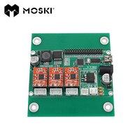MOSKI USB Port Cnc Engraving Machine Control Board 3 Axis Control Laser Engraving Machine Board GRBL