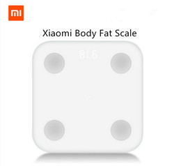 Original Xiaomi Mi Smart Scale 2 Mifit APP & Body Composition Monitor Body Fat BMR Test Hidden LED Display And Big Feet Pad whit