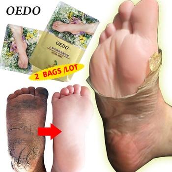 2Bags/Lot Skin Care Foot Mask Soften The Calluses Dispel Cutin Nourish Repair Feets Beauty & Health Smooth  Foot Membrane
